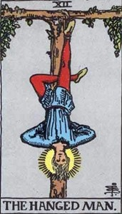 tarot The Hanged Man